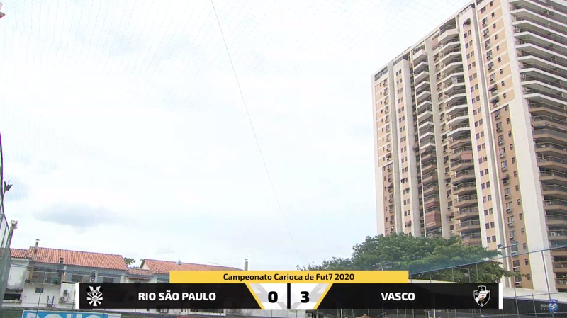 Futebol 7: Vasco x RSP