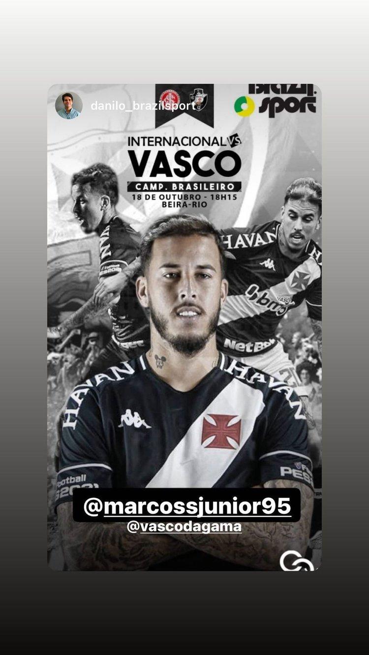 Instagram Marcos Jr
