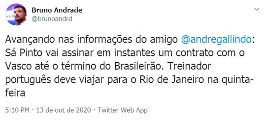 Negociação Ricardo Sá
