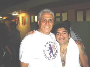 Roberto Dinamite e Maradona
