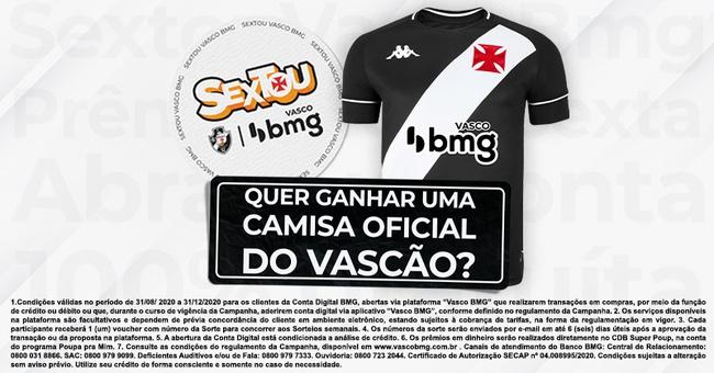 Sorteio Vasco BMG