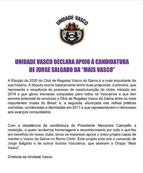 Unidade Vasco
