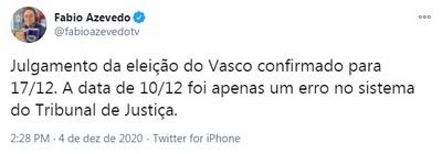 Julgamento da eleição do Vasco