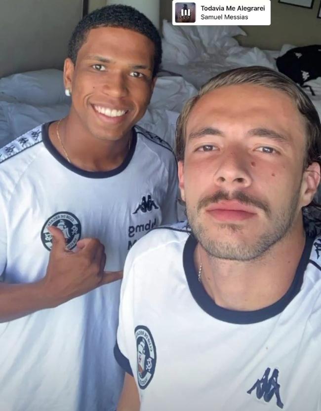 Juninho e Caio Lopes