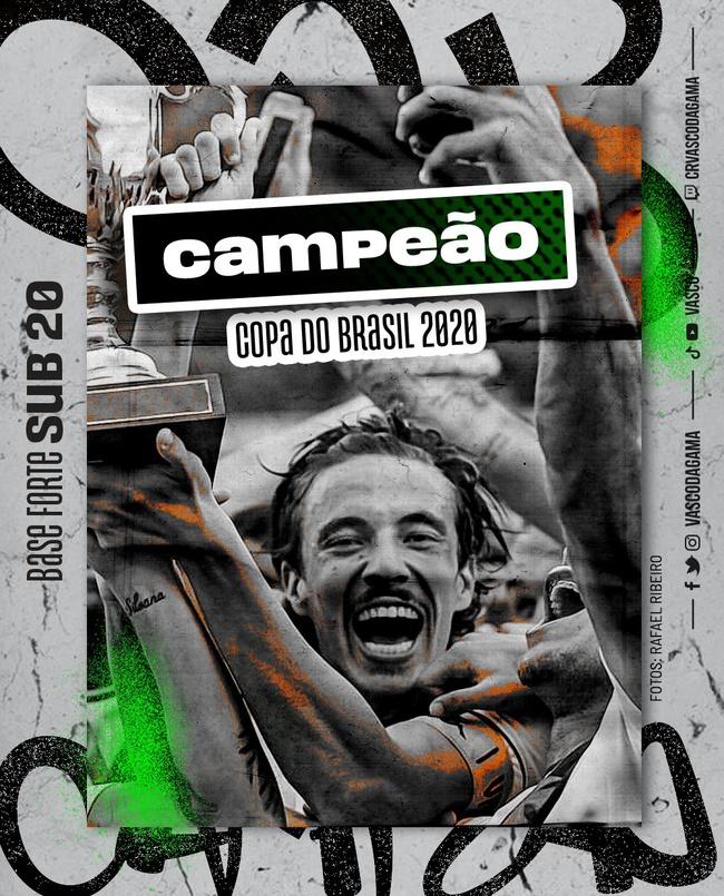 Vasco campeão da Copa do Brasil Sub-20