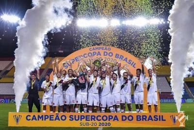 Sub-20: Equipe campeã da Super Copa do Brasil 2020
