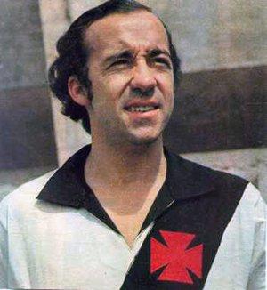 Tostão com a camisa cruzmaltina
