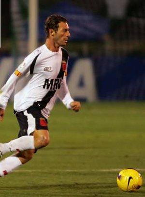 Leandro Amaral, contra o Palmeiras