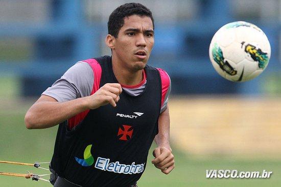 Allan, polivalente jogador do Vasco, dá adeus