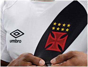 Camisa branca do Vasco versão 2017-2018