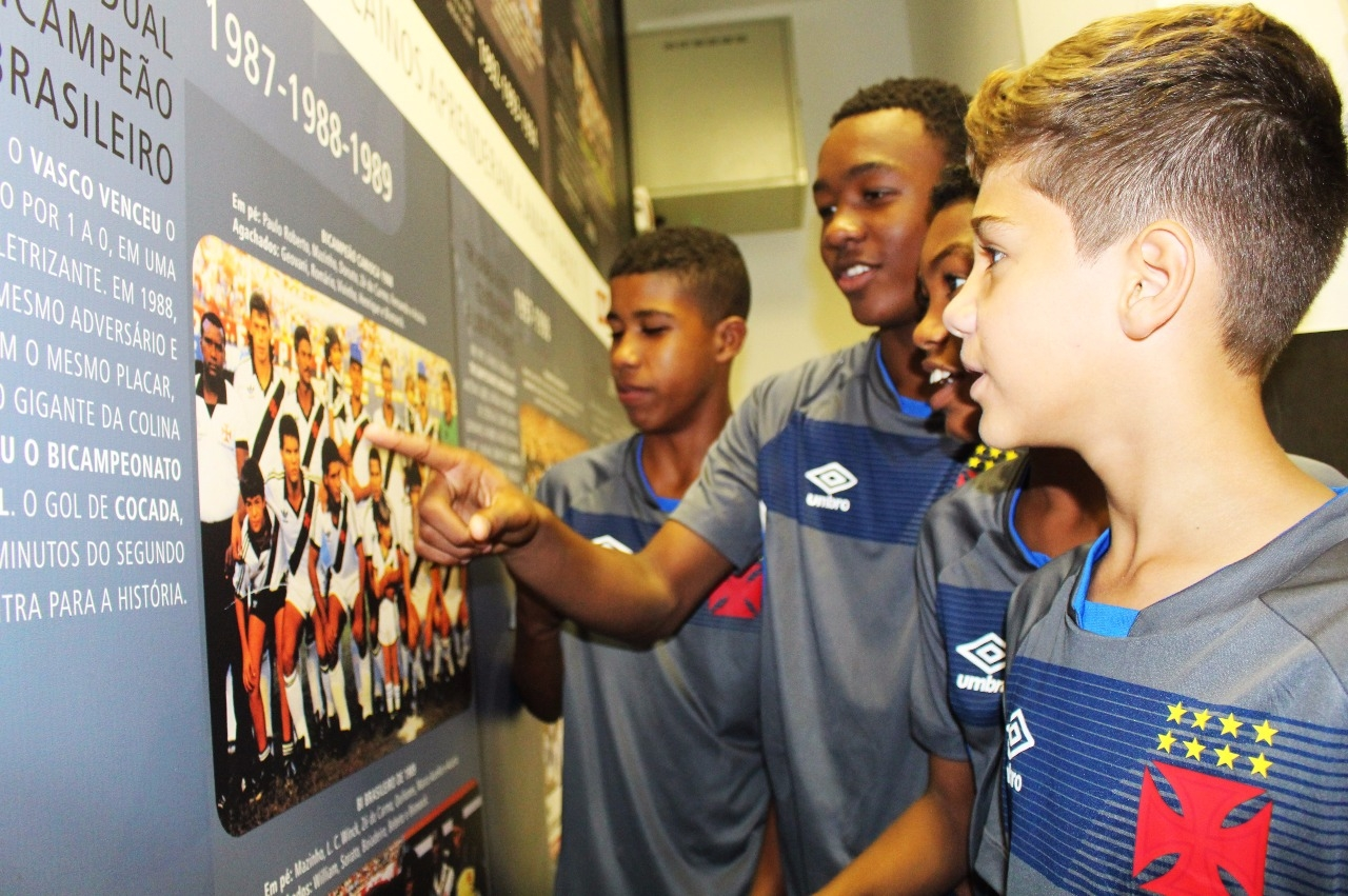 7f1c26617d O projeto Media Training contempla todas as categorias do futebol de base  vascaíno