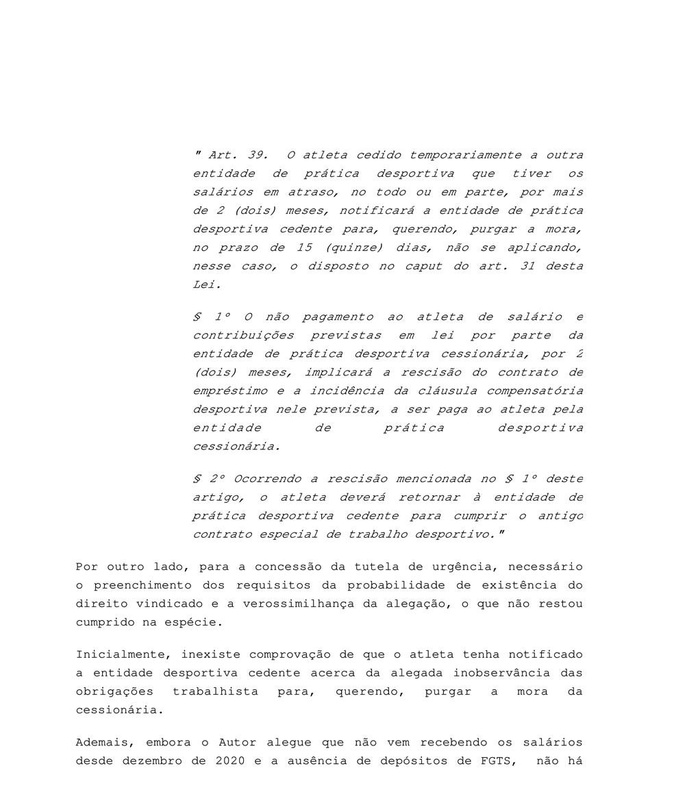 Processo Neto Borges contra o Vasco
