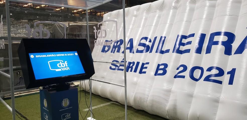 VAR estreou na Série B no começo do returno
