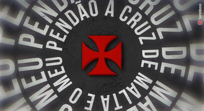 A cruz de malta é o meu pendão